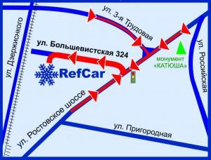 Карта РЕФКАР большевистская БЕЗ текста